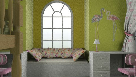 Emma és Emily01 - Classic - Kids room  - by Audrey17
