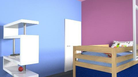 just room - Retro - Bedroom  - by esther_robery