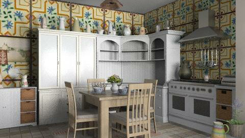 Country - Country - Kitchen  - by milyca8