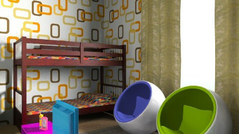 Color kids room - Modern - Kids room  - by mArchitecture137