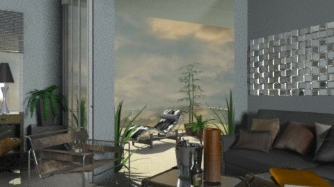 FOR MAN - Eclectic - Living room  - by chania