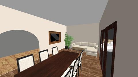 salond - Living room - by Agnieszka1199