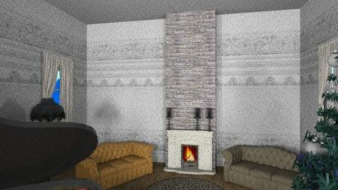 Warm Livingroom - Vintage - Living room  - by 1930