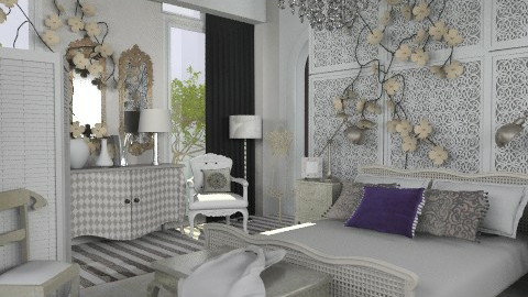 Glam - Eclectic - Bedroom  - by du321