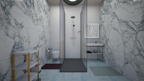 bathroom - Minimal - Bathroom  - by ninaanggini
