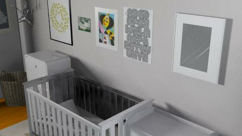 Childnursery - Retro - Kids room  - by gigideco