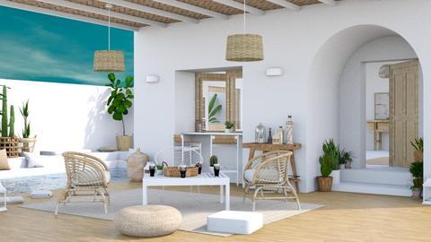 Alba patio - Garden  - by Charipis home