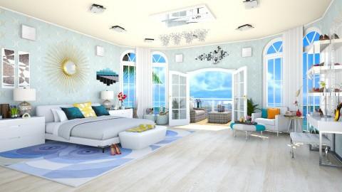 beach - Bedroom  - by teffy