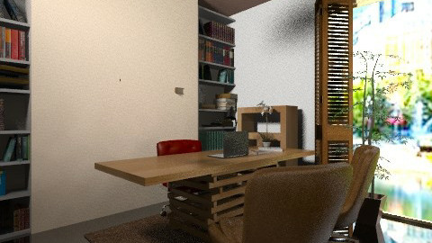 polka Office - Vintage - Office  - by javakimmy7