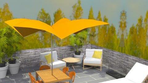 Rusa Patio - Modern - Garden  - by Adam Leveille