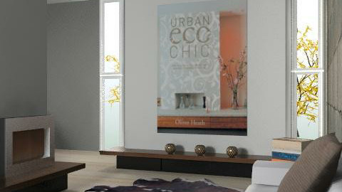 brown - Minimal - Living room - by Natasa_M