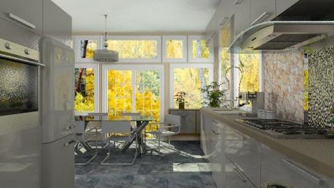 Labo kitchen - Modern - Kitchen  - by Bibiche
