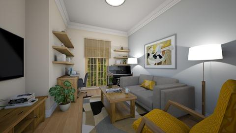 Lounge with a door - Eclectic - Office  - by gbrowning