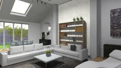 Staged Home - Modern - Living room  - by Theadora