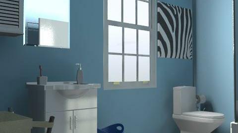 Bathroom - Eclectic - Bathroom  - by BunnyMama21