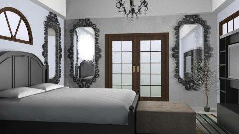serene L.A. bathroom - Minimal - Bedroom  - by whatsmyname
