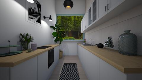 Galley Kitchen - Kitchen  - by chariser1