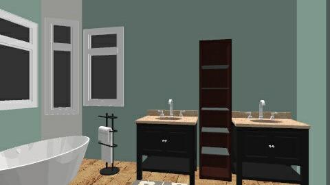 MauraEdBathroom1 - Eclectic - Bathroom  - by EllBee1204
