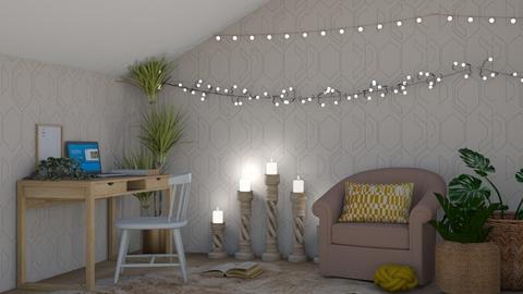 My Cozy Corner  - Feminine - Bedroom  - by NEVERQUITDESIGNIT