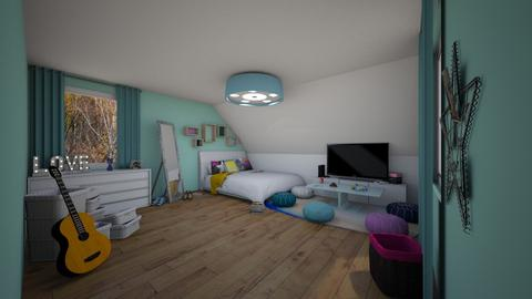 Attic - Bedroom  - by miah