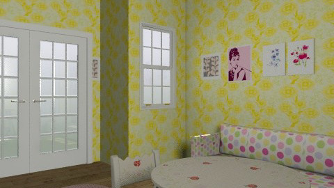 Kids' Summer Bedroom - Feminine - Bedroom - by Hoppertons