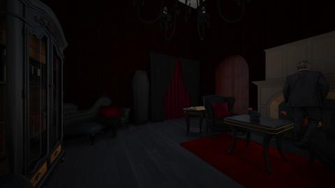 Gothic Glass and Chair - by SammyJPili