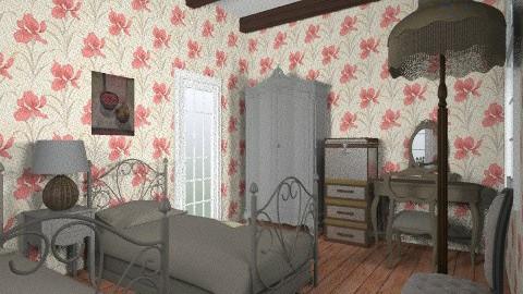 orfanato  - Retro - Bedroom  - by sylviamata