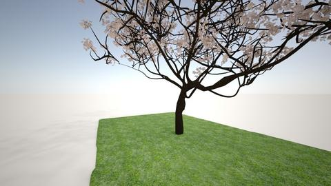 japan flower bosom tree  - Garden  - by crying_room