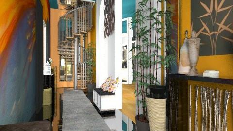 hallway - Retro - by Eleni Irini