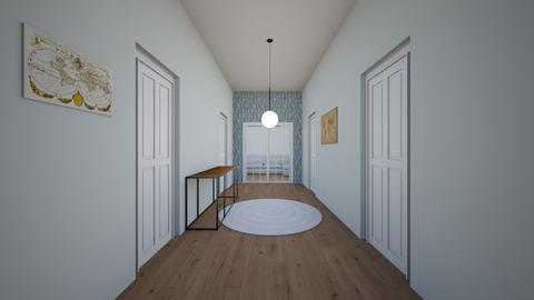 Modern Hallway - Modern - by sophiefleah
