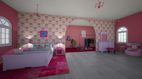 pretty n pink - Bedroom  - by 7087755443