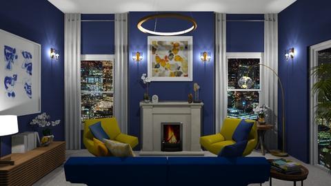 LR - Modern - Living room  - by Elya Vovak