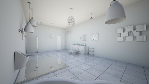 White angelic room - Minimal - Bathroom - by AURORA SCOTT ALLEN