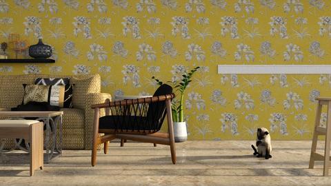 Natural Look living room - Rustic - Living room  - by jiltsheth