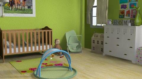 zoe - Modern - Kids room  - by zedstaaa 2k10