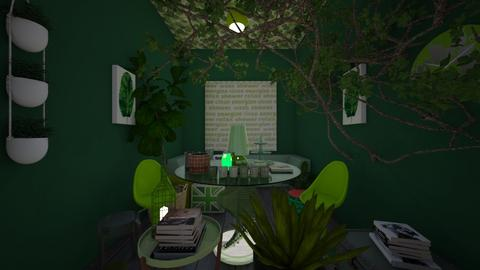 Green Room - by junicorn19