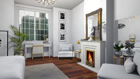 white - Bedroom - by dorota_k