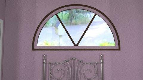 Purple Rustic Chic Bedroom - Rustic - Bedroom  - by hwarren7