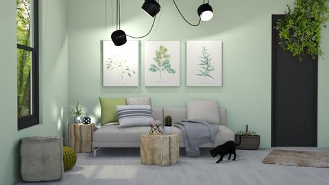 MADSEN template - Living room  - by mgirlie30