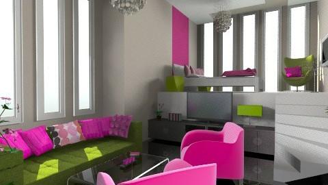 szoba - Living room - by ozsvatgabi
