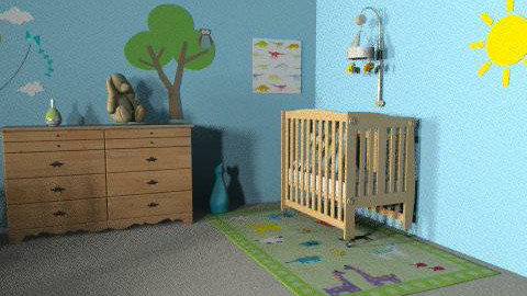 baby room - Classic - Kids room  - by nlife