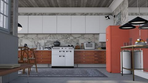 Classy kitchen - Modern - Kitchen  - by HenkRetro1960