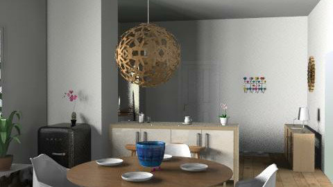 Sarahs Kitchen/dining - Eclectic - Kitchen  - by SarahMoreno