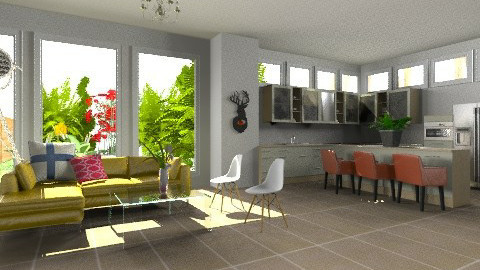 Eclectic Living - Eclectic - Kitchen  - by Baustin