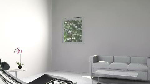 Corbusier - Minimal - Living room  - by gregbroxton