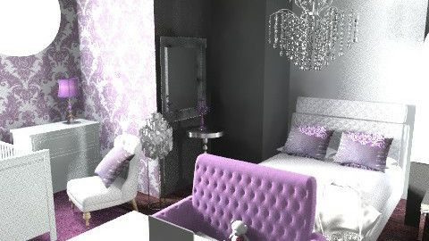 Teen room - Glamour - Kids room  - by juicygirl