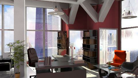 Executive Office  - Modern - Office  - by Bibiche