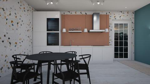 small apartment2 - Kitchen  - by erladisgudmunds