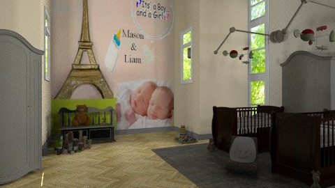 M n L 4 - Classic - Kids room  - by dipselvic