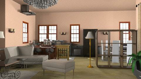 Home,sweet home - Glamour - Living room  - by enaempress